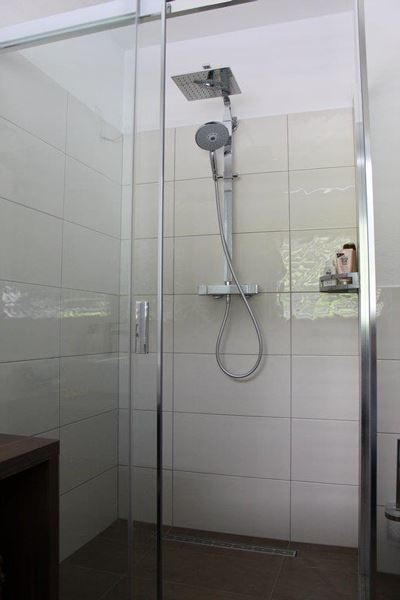Apartment, shower and bath, toilet, lake view