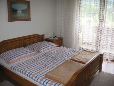 Double room, shower, toilet, balcony