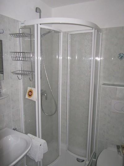 Triple room, shower or bath, toilet, lake view