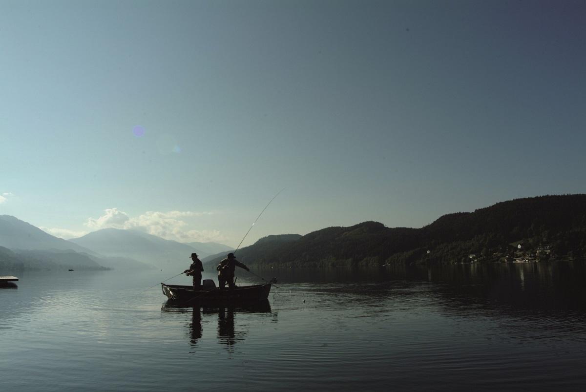 Angeln am millst tter see fischwasser k rnten for Teichreinigung mit fischen