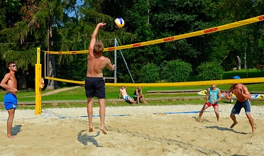 Beachvolleyball Seeboden