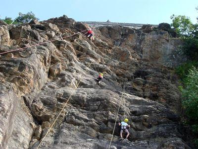 Klettersteig Oostenrijk : Klettern am millstätter see jungfernsprung und breitwand