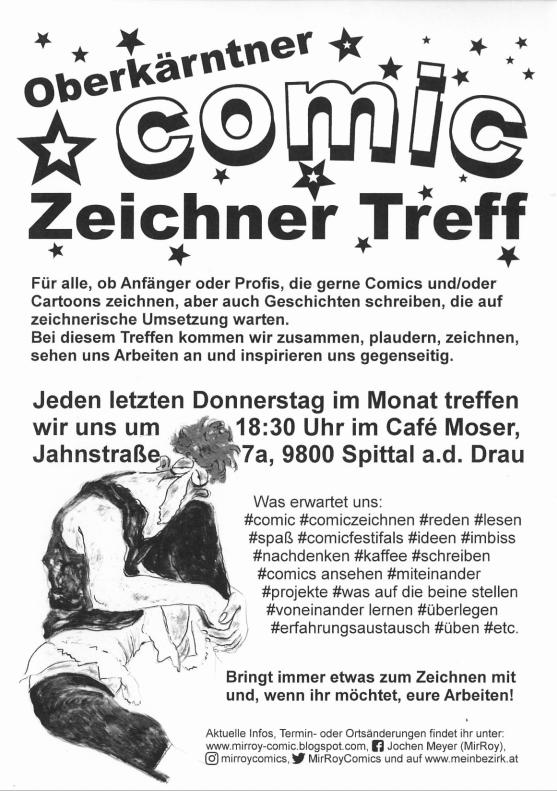 Oberkärntner Comic Zeichner Treff