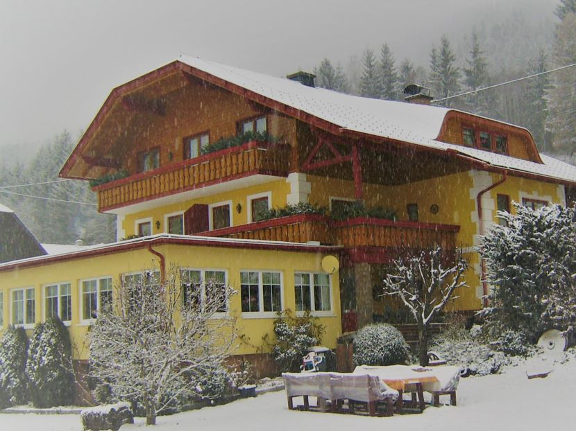 Landhaus Holle im Winter
