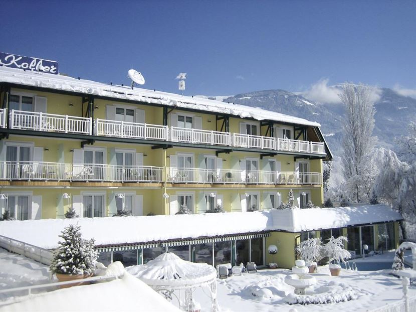 KOLLERs Hotel im Winter
