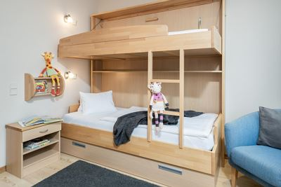 Junior Suite SUPERIOR bis 4 Pers. 33m²  3/4 Pens.