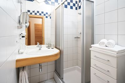 Junior suite, doccia, WC, superior