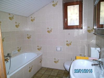 Holiday home, shower or bath, toilet, lake view