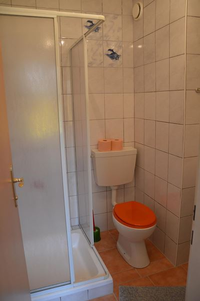 Double room, shower, toilet, standard