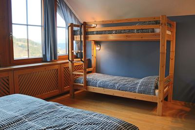 4-bed room without balcony with bunkbed