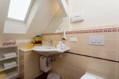 Holiday home, bath, toilet