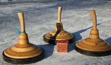 Ice skating & german curling